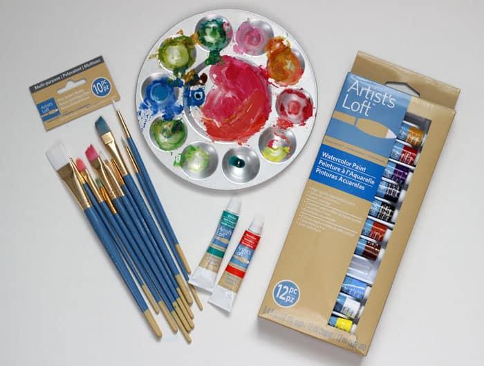 Watercolor beginner