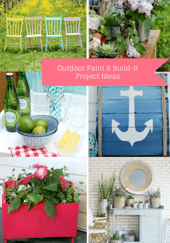 Outdoor extravaganza Paint and DIY week