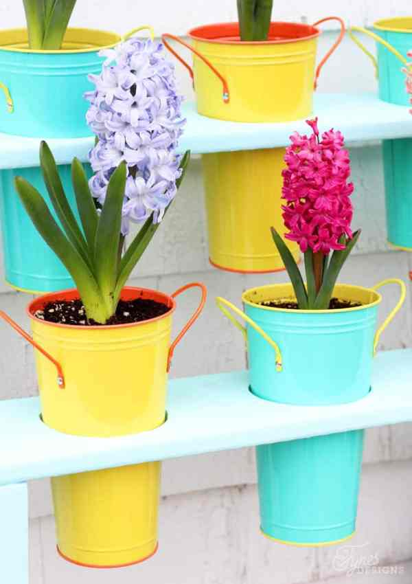 Easy to Build Patio DIY Planter- Outdoor Extravaganza