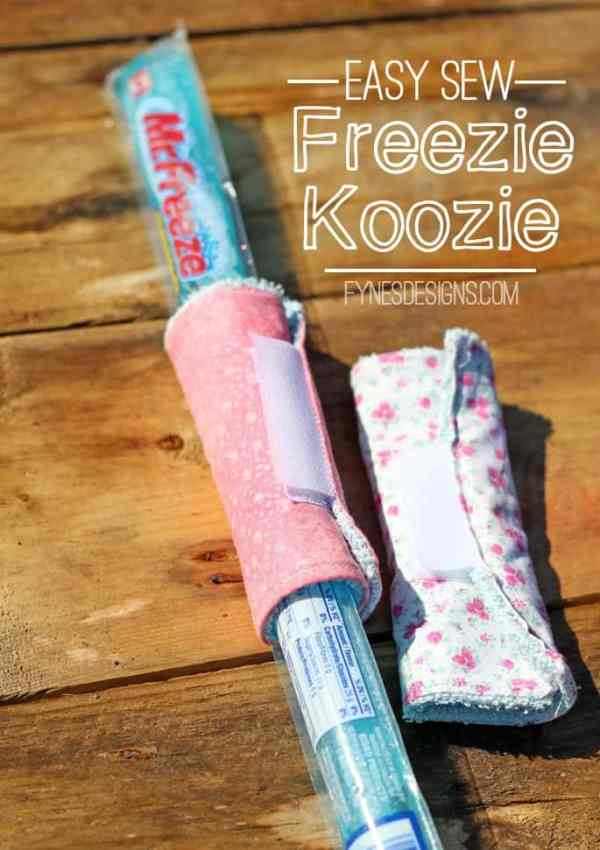 Easy Sew Freezie Koozies