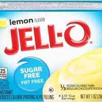 Sugar-Free Lemon Pudding Mix