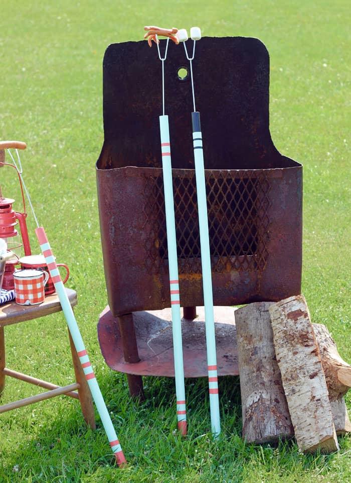 How to make easy Campfire roasting sticks