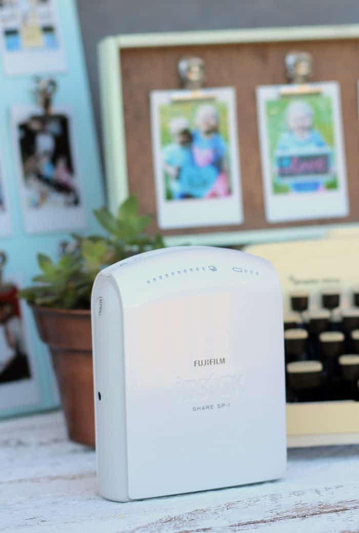 INSTAX SHARE printer from FUJI FILM- prints tiny polaroids right from your phone!!
