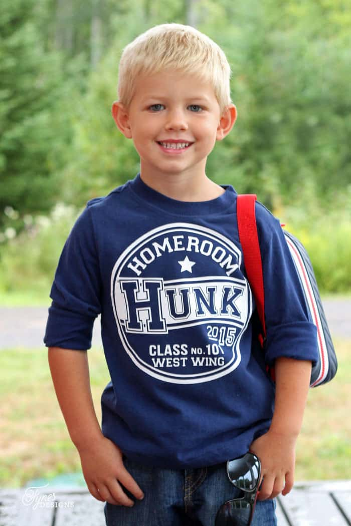 Back To School Cute Kids T Shirts Free Silhouette Cut