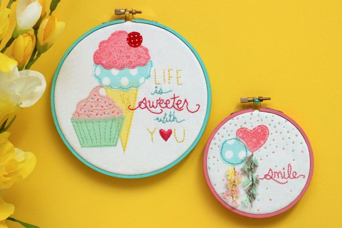 Easy DIY Embroidery kit. Link to kit, step by step written and video instuctions