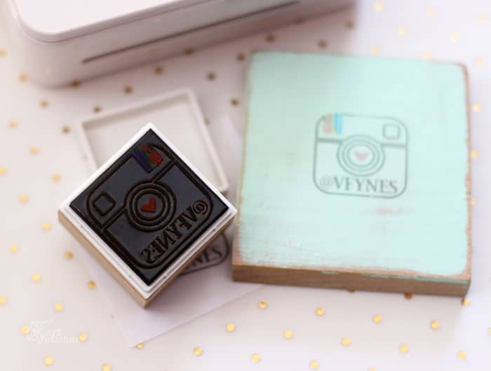 Create one of a kind custom stamps with the Silhouette Mint stamp machine