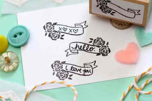 Create one of a kind custom stamps with the Silhouette Mint stamp machine. How to use the Silhouette Mint tutorial