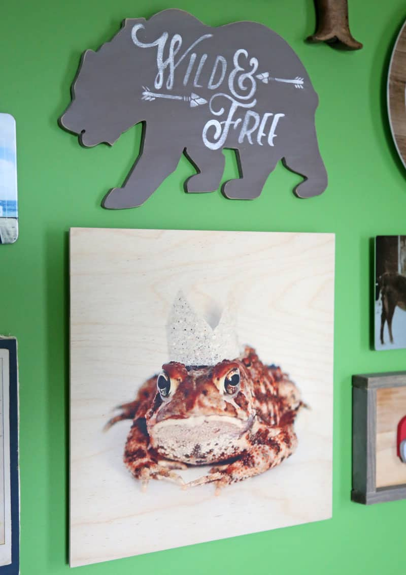 Wood Wall Art from Shutterfly