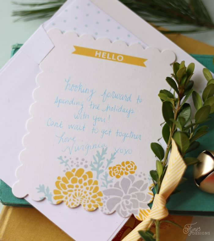 Personalized notecards from Tiny Prints make a wonderful holiday gift
