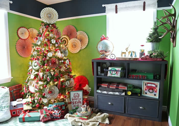 This home tour has 10 trees, click to see them all!