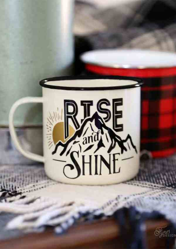 Rise and Shine Free Silhouette Cut File