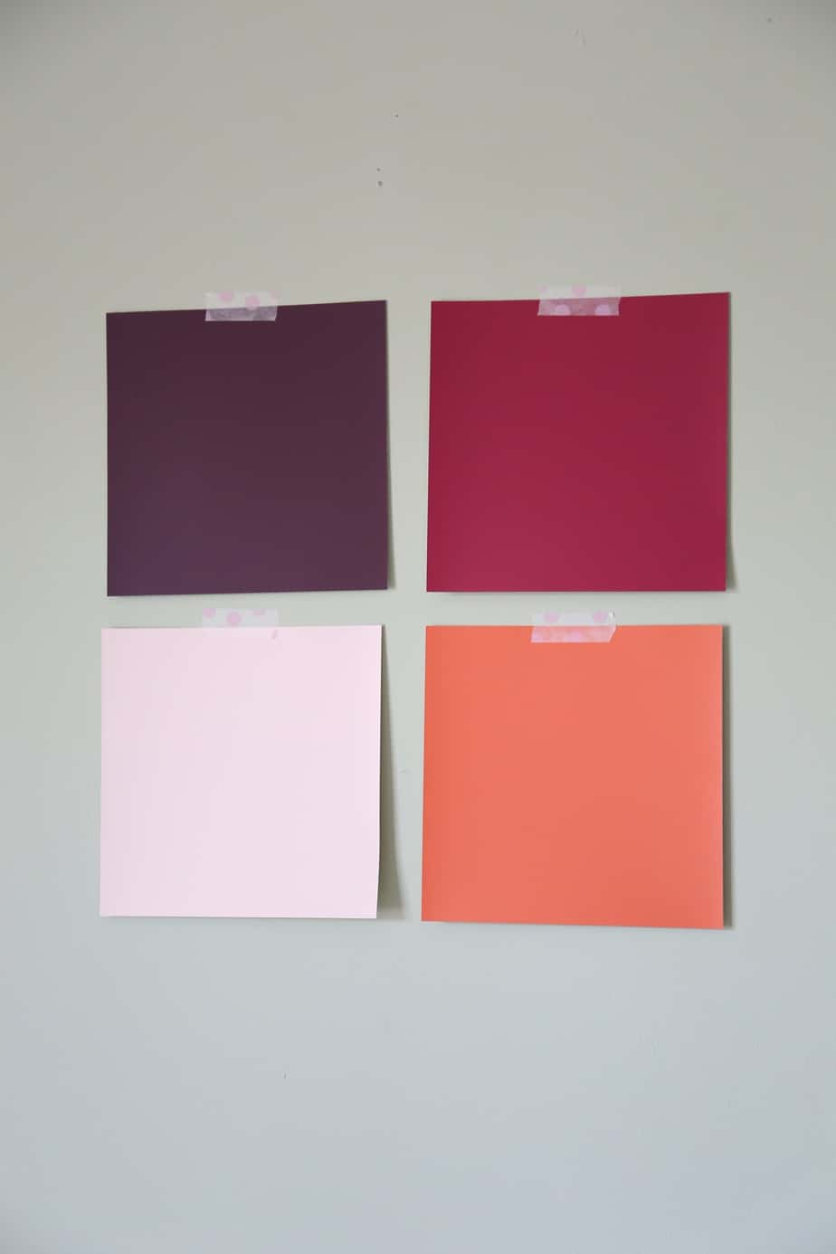Order free 8x8 Color Swatches from PPG Voice of Color