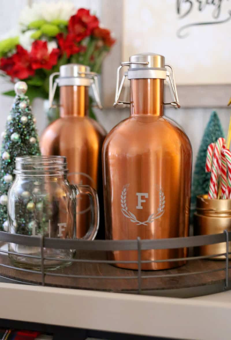 Shutterfly personalized Growlers. Perfect guy gift idea