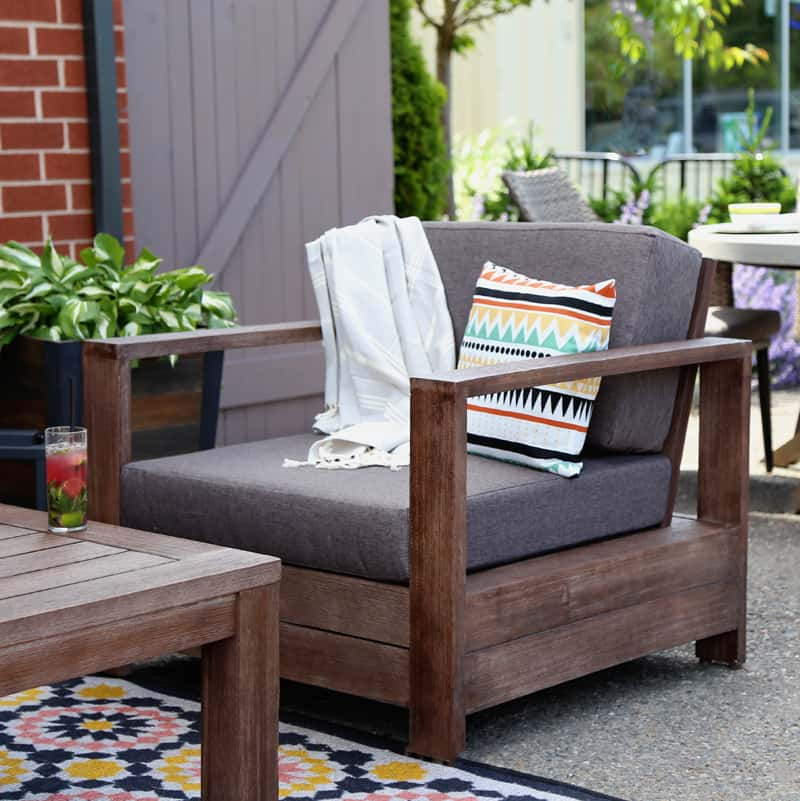 Create The Perfect Lounging Area With Canadian Tire CANVAS Patio Collection.  Beautiful Furniture, And