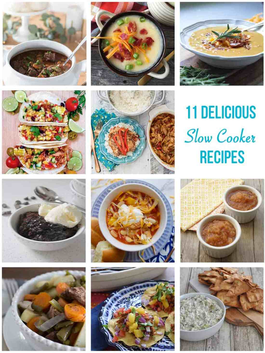 11 Delicious Slow Cooker Recipes