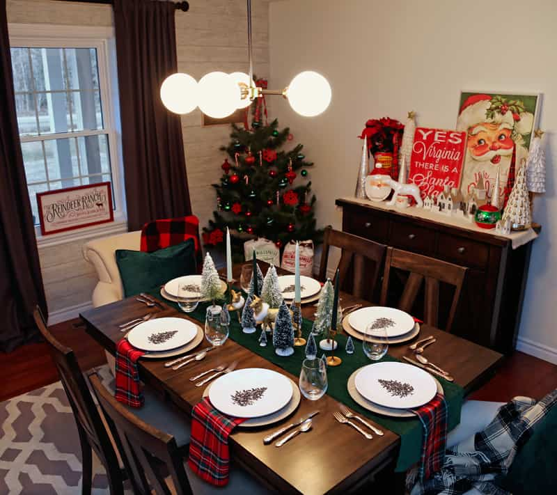 Christmas Table Setting - FYNES DESIGNS | FYNES DESIGNS