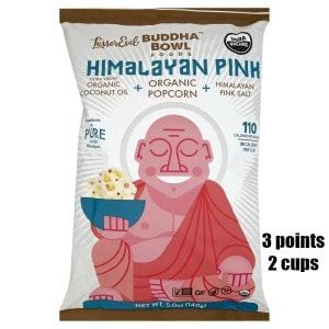Low Point Weight Watchers snacks under 3 points featured by top US life and style blog, Fynes Designs: Buddha Pop Corn