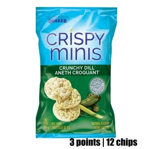 Low Point Weight Watchers snacks under 3 points featured by top US life and style blog, Fynes Designs: Quakers Crispy Minis