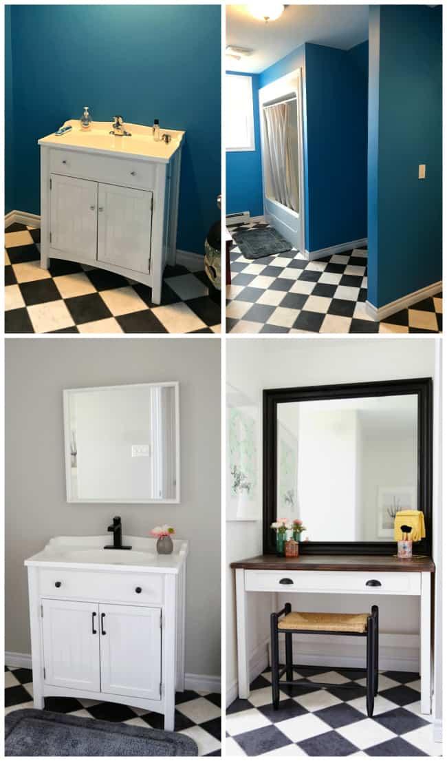 Update a bathroom in a weekend