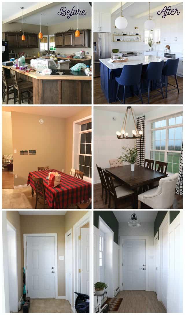 A must see Modern Farmhouse kitchen renovation