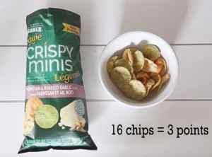 Low Point Weight Watchers snacks under 3 points featured by top US life and style blog, Fynes Designs: Veggie Crispy Minis |Weight Watchers Snacks by popular Canada lifestyle blog, Fynes Designs: image of Veggie Crispy Minis.