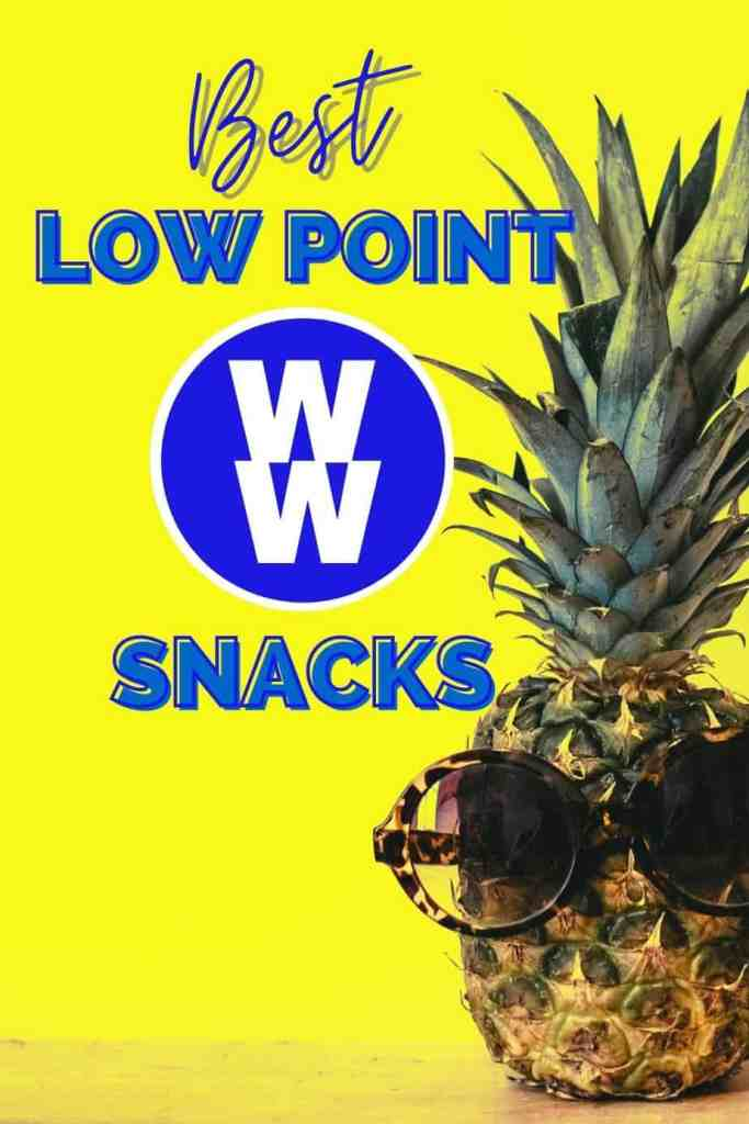 Best Low Point Weight Watcher snacks |Weight Watchers Tools by popular Canada lifestyle blog, Fynes Designs: Pinterest image of best low point Weight Watchers snacks.
