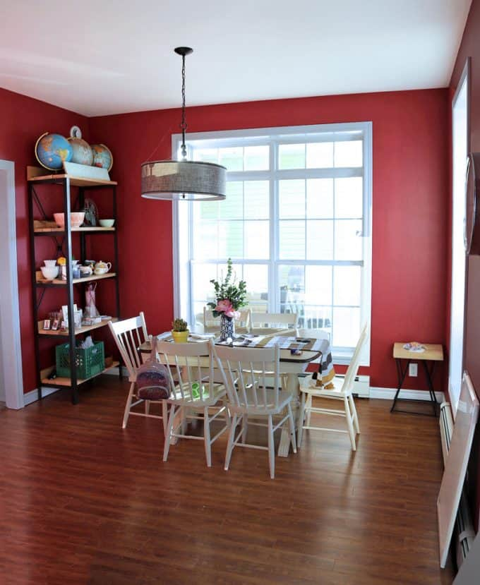 Colorful Modern Living Room Design featured by top US design blog, Fynes Designs: image of before