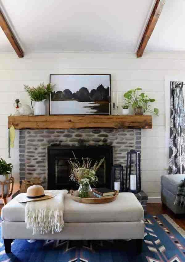 80s Cottage Makeover: How to Turn a 1980s Lake House into a STUNNING Farmhouse Cottage