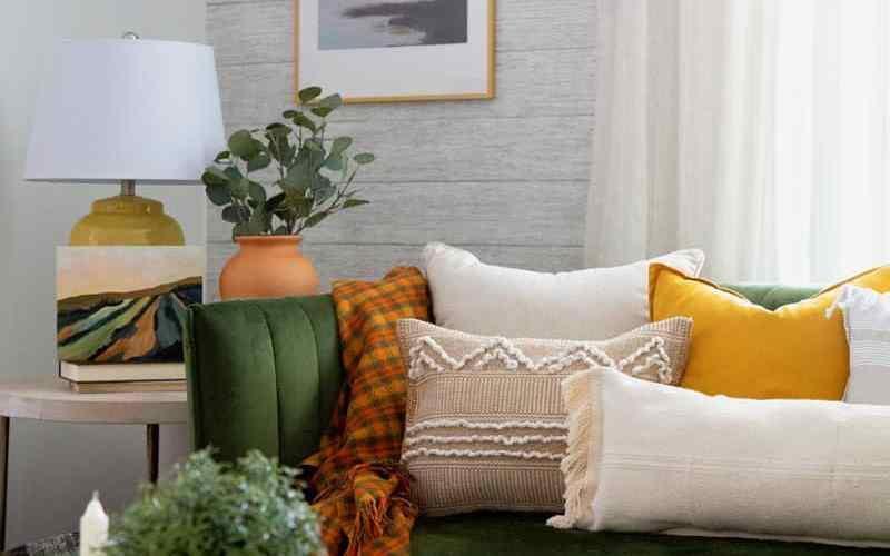 IKEA hacks: NO SEW boho pillows