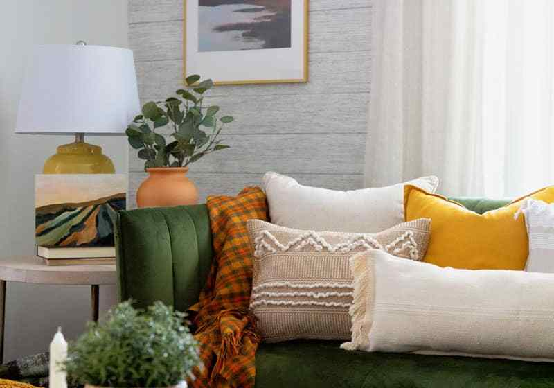 IKEA hacks: NO SEW boho pillows