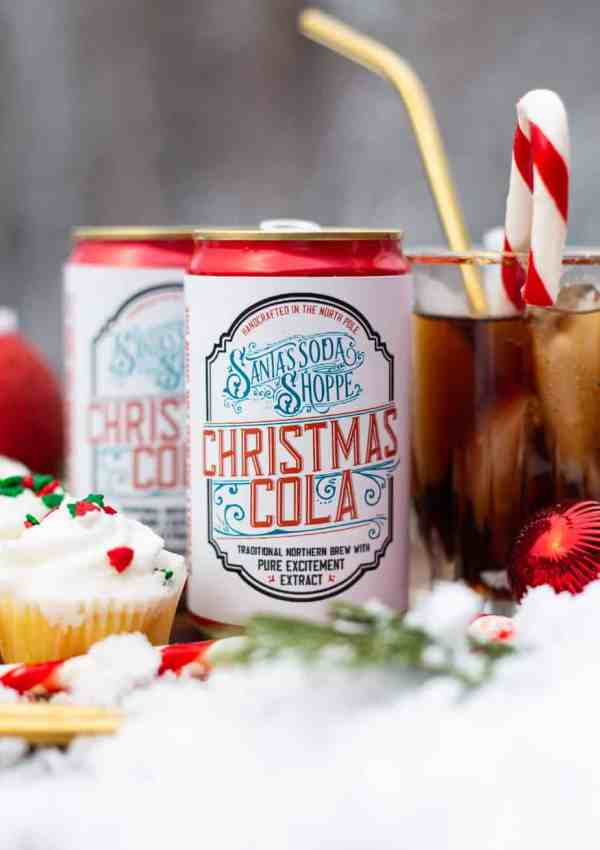 Personalized Christmas Soda Bottle Labels