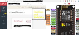 pubnub and nodemcu