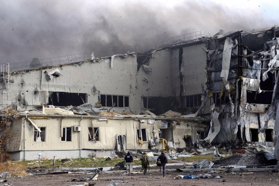 Flygplatsen i Donetsk