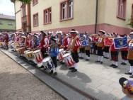 Sektion Ost beim Gemeinschaftsspiel Fotos: Verband Südwestdeutscher Fanfarenzüge e.V.
