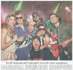 Schwäbische Zeitung am Rosenmontag, 07.03.2011