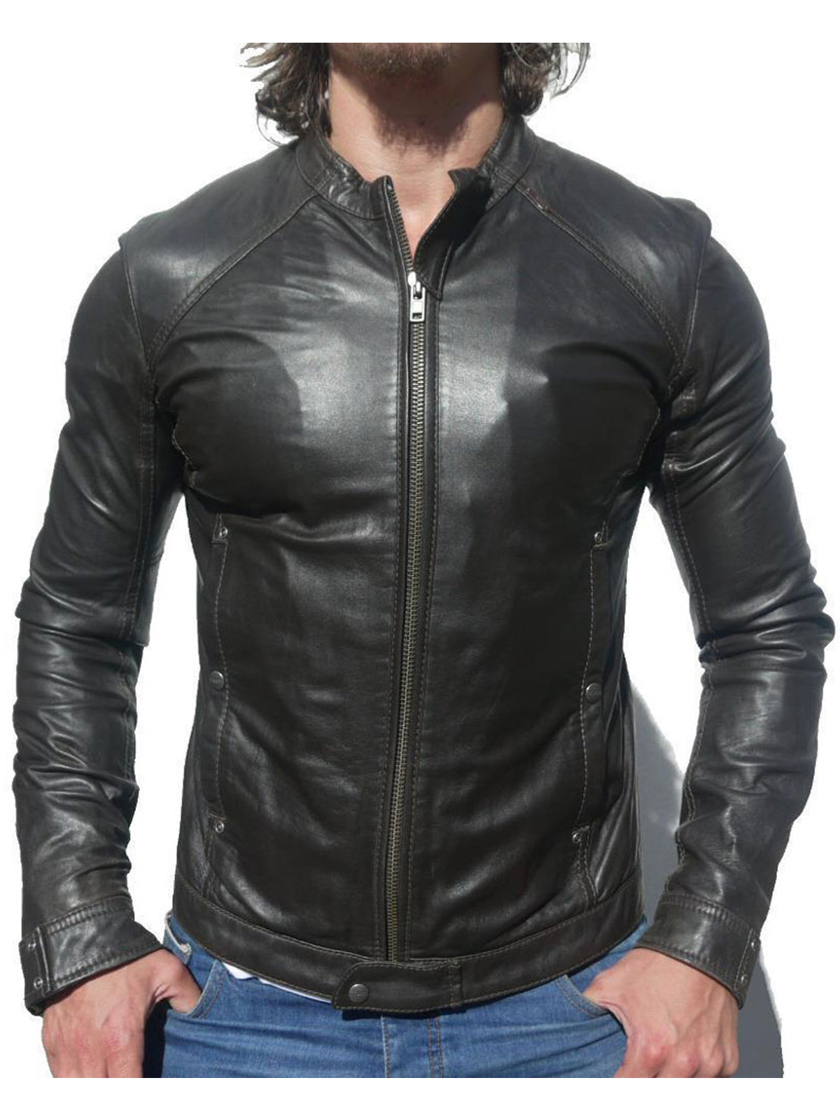 Limitless Bradley Cooper Biker Leather Jacket