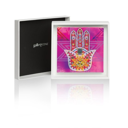Fatima Hand VIII Framed Art Box