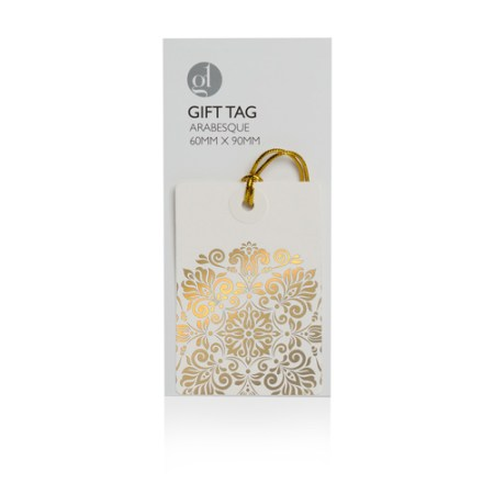 Arabesque 2 Gift Tag