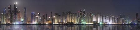 Twilight. Dubai Marina