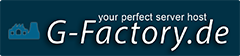 G-Factory.de - your perfect server host