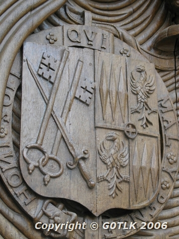 Old door carvings
