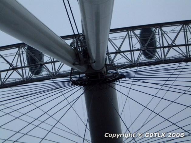 Ferris wheel - hub