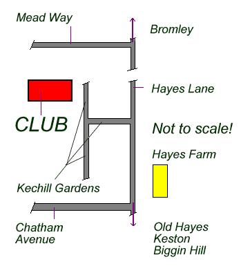 BDARS location plan
