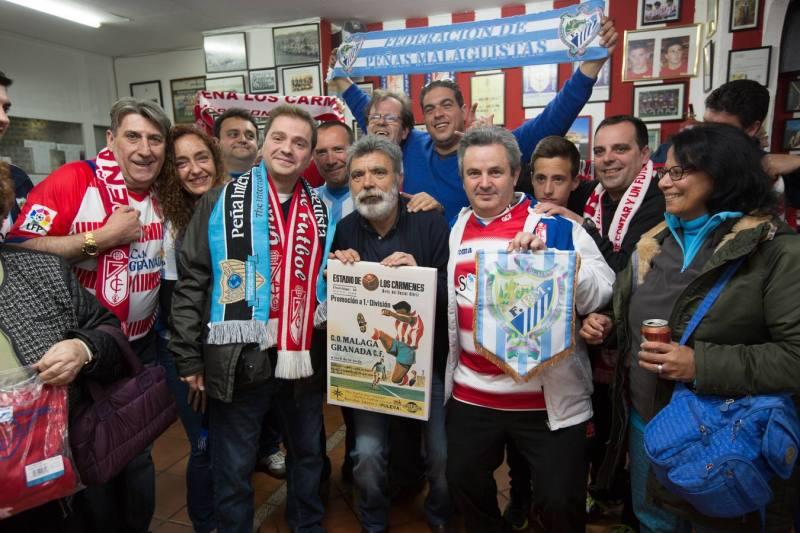 Pratido entre el Granada CF y el Malaga CF. FOTO: FERMIN RODRIGUEZ @ferminius