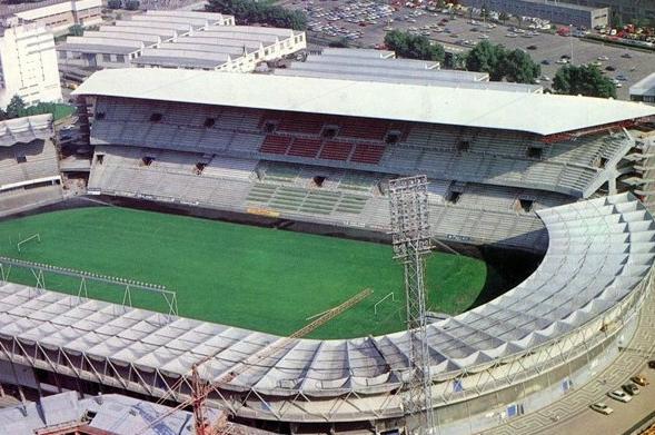 Balaídos durante el Mundial del 82