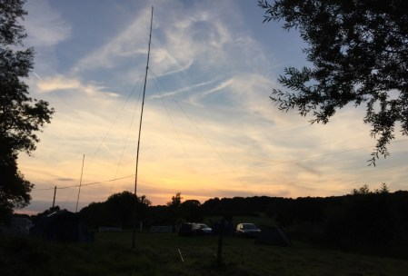 Antenna at Sunset