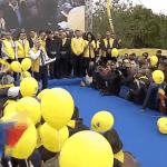 VIDEO Miting PNL în fieful lui Liviu Dragnea, la Alexandria / Liberalii fac o plimbare prin oraș