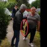 """VIDEO Un viceprimar PSD din Giurgiu l-a amenințat cu sabia pe concurentul de la ALDE: """"A scos din mașină sabia și m-a amenințat, l-a lovit pe un prieten"""""""