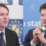 Cele două figuri controversate ale Opoziției: Florin Cîțu și Andrei Caramitru