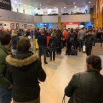 VIDEO Haos pe Aeroportul din Cluj după ce au fost anulate cinci zboruri din cauza ceții